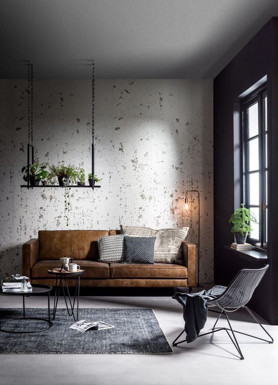 living room industrial style industrial style living room design happho 17179